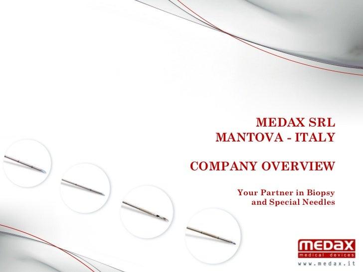 Medax Company Biopsy Needles
