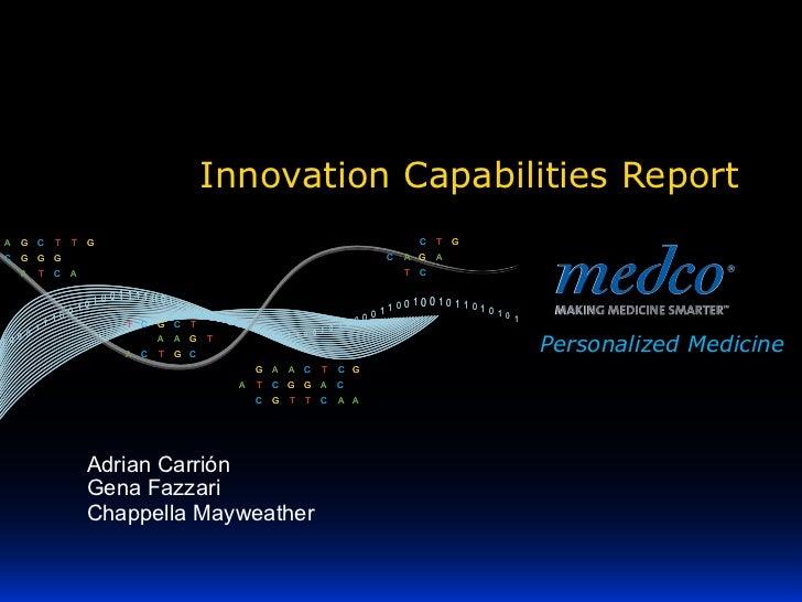 Medco Innovation 2011.11