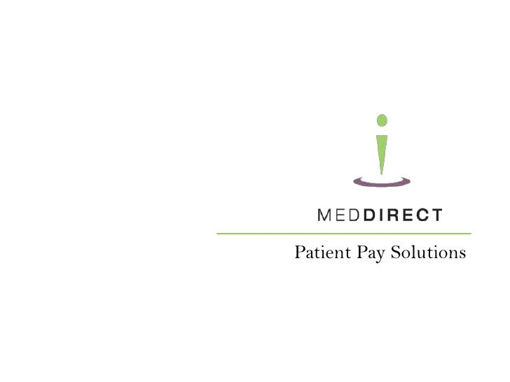 Patient Pay Solutions<br />1<br />