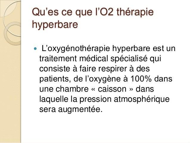 Medecine hyperbare for Chambre hyperbare