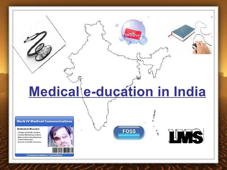 Medical e-ducation in India