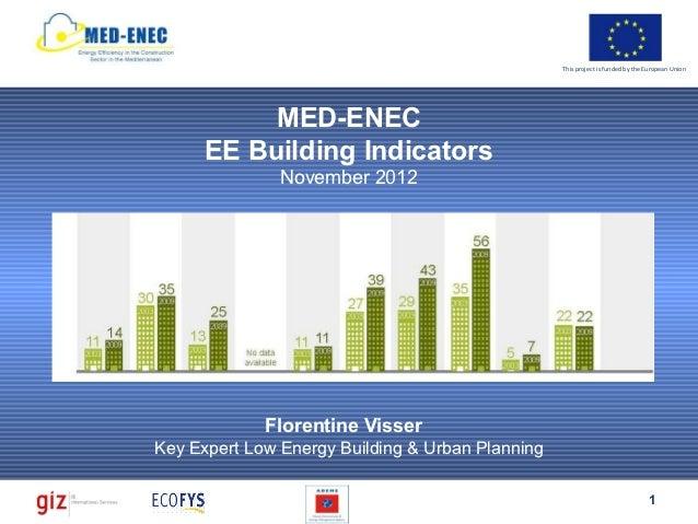 Med enec building ee indicators f visser121129