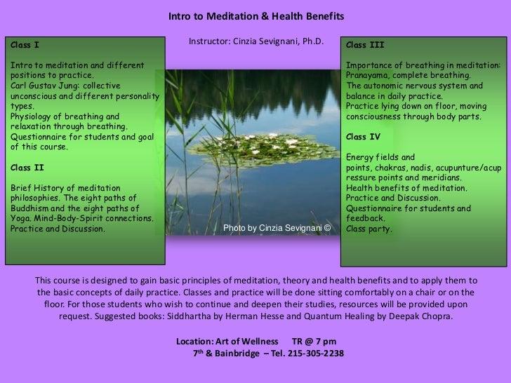 Med health benefits_slides