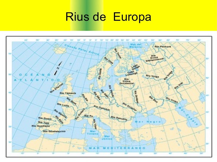 Rius de  Europa