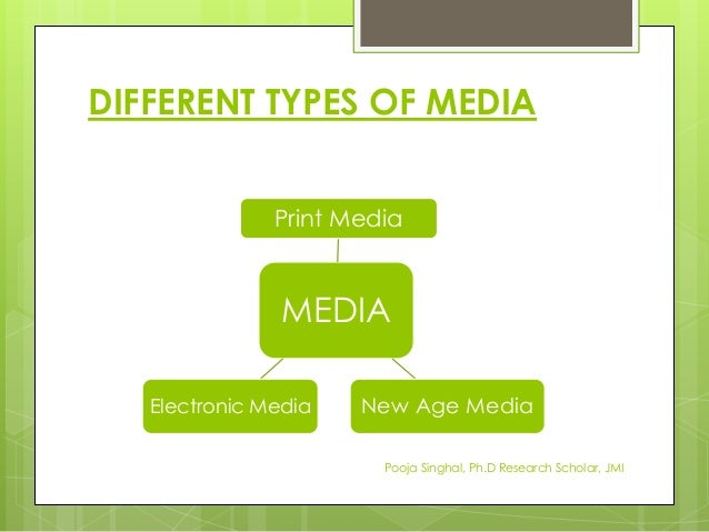 print media and e media Thanks to digital media instead of choosing among a tv or radio commercial or a print advertisement, they can now create media that is a combination of audio.