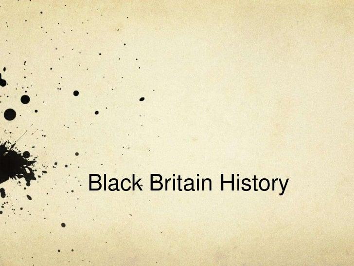 Black Britain History