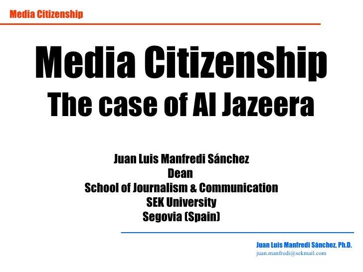 Media citizenship