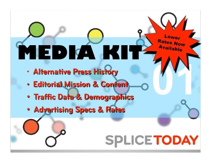 Splice Today Media Kit
