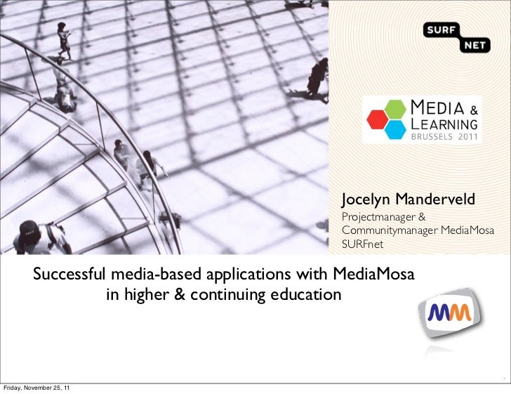 Jocelyn Manderveld                                                  Projectmanager &                                      ...