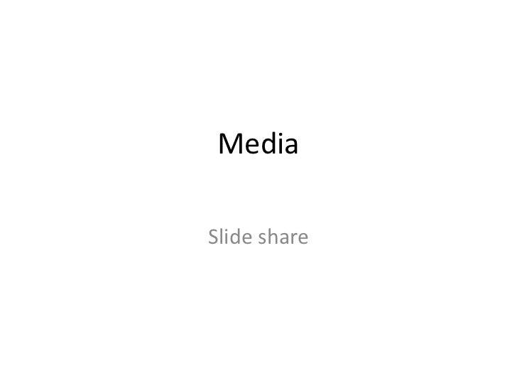 MediaSlide share