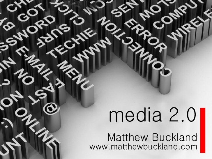 Media 2.0 & social media
