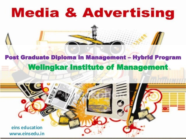 Distance Learning MBA in Media & Advertising from EINS Education- Welingkar Institute of Management