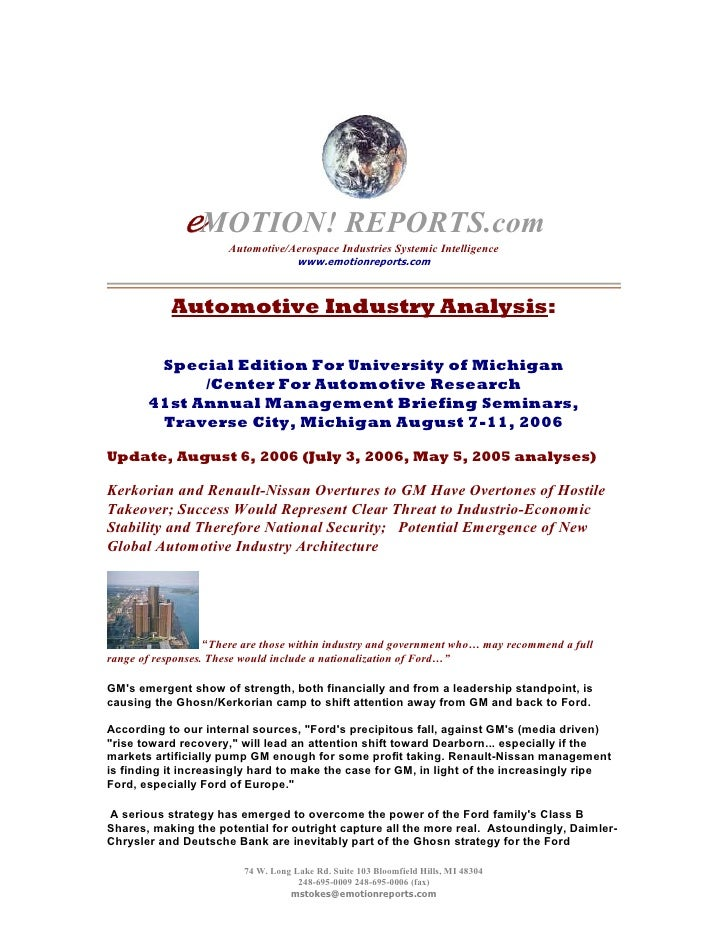 eMOTION! REPORTS.com Archives - GM IPO: An Analysis/Timeline of Global Machinations to Effect Capture of The US Auto Industry