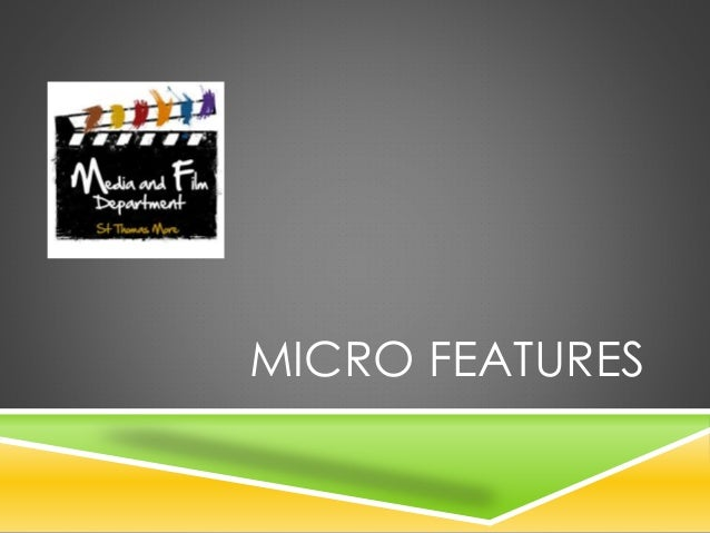 MICRO FEATURES