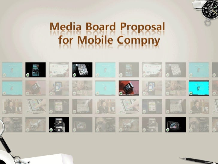 [제안서]Media board proposal for mobile company