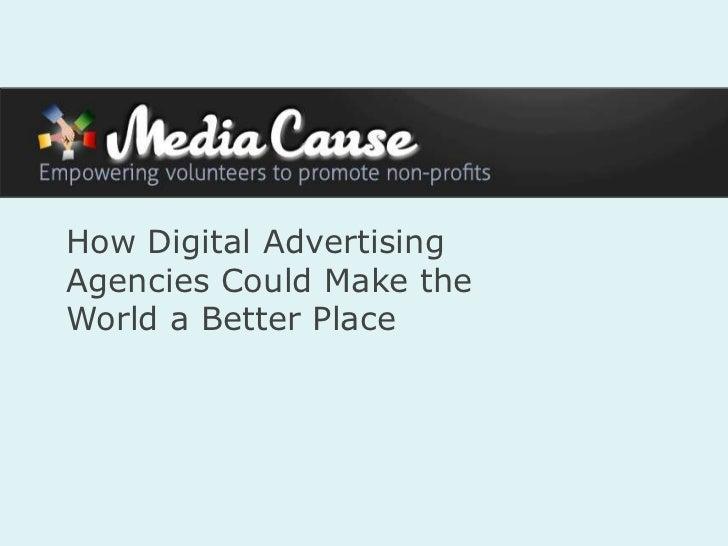 Media Cause Agency Partnerships