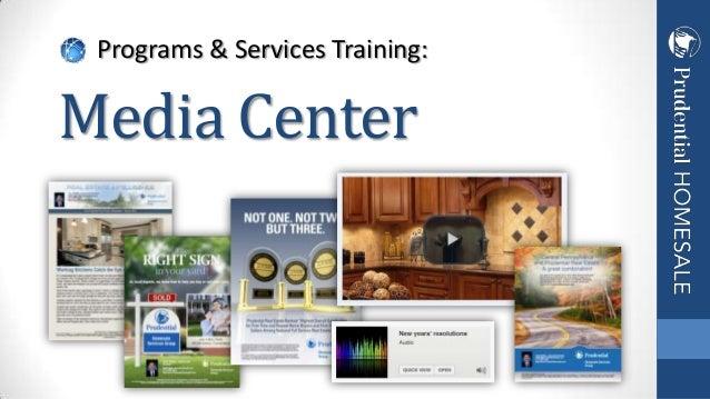 Programs & Services Training: Media Center