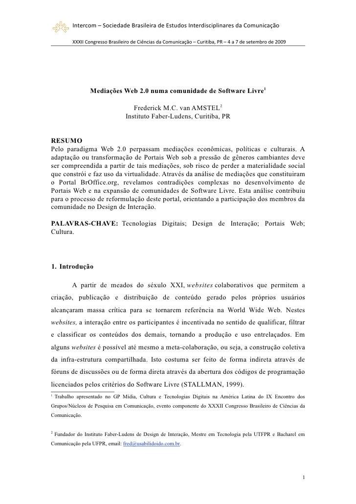 Mediações Web 2.0