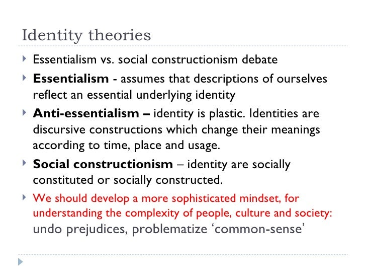 disability as socially constructed according to the arguments of wendell Disability is commonly viewed as a problem that exists in a person's body and requires medical treatment the social model of disability, by contrast, distinguishes between impairment and disability, identifying the latter as a disadvantage that stems from a lack of fit between a body and its social environment.