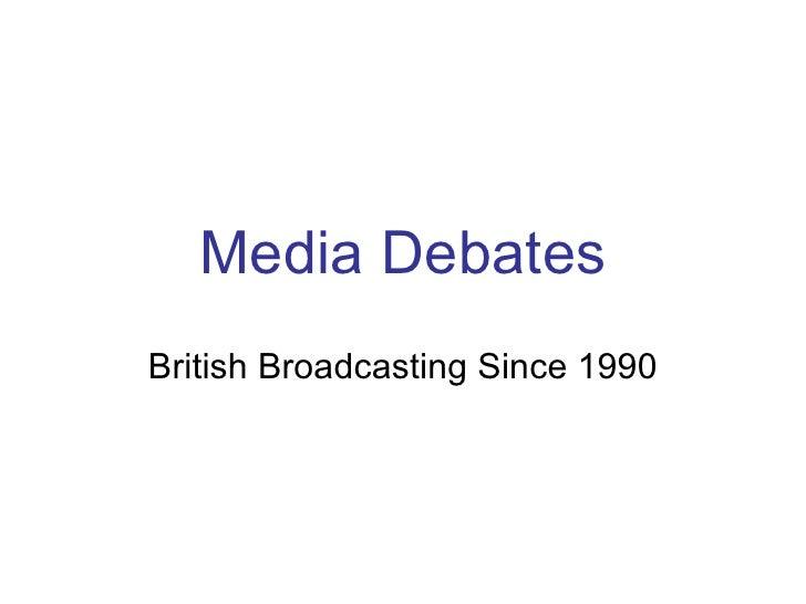 British Broadcasting Legislation