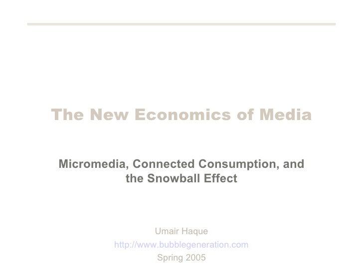 Mediaeconomics