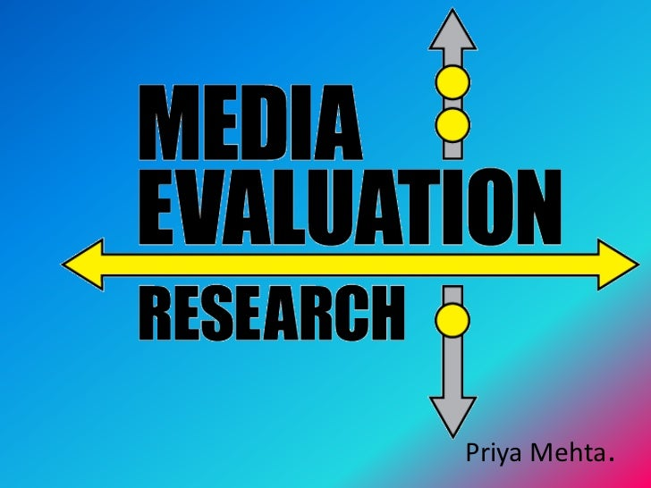 Media evaluation QUESTION 1
