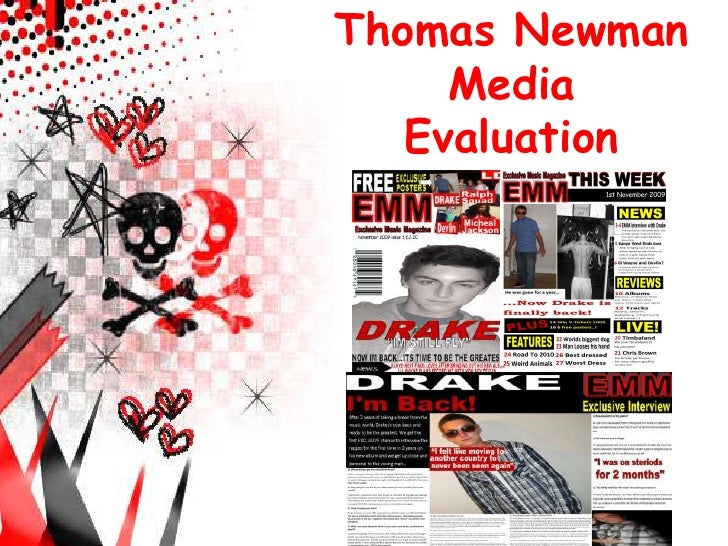 Thomas Newman<br />Media<br />Evaluation <br />