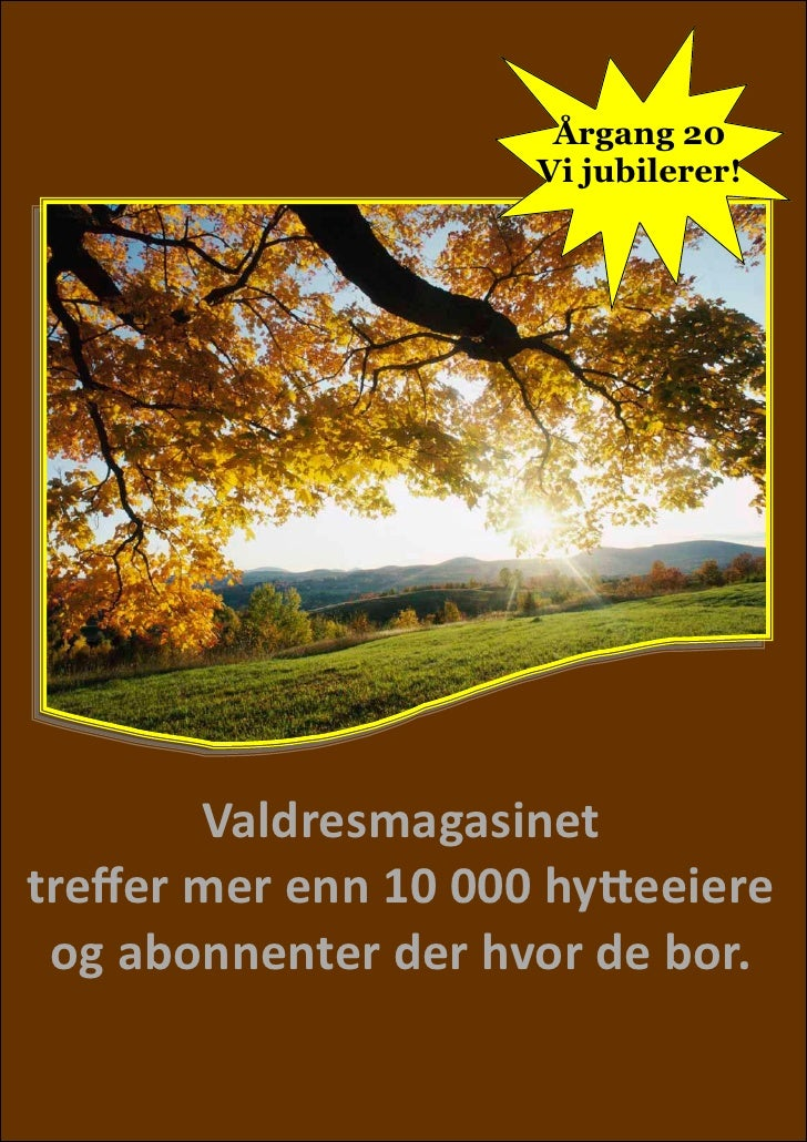 Mediafolder Valdresmagasinet