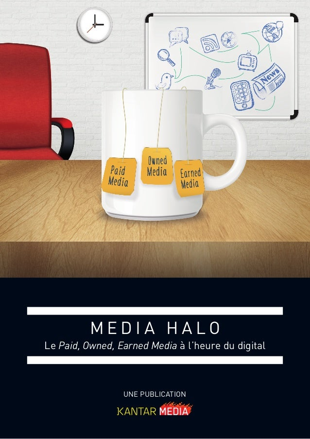 UNE PUBLICATION M E D I A H A L O Le Paid, Owned, Earned Media à l'heure du digital