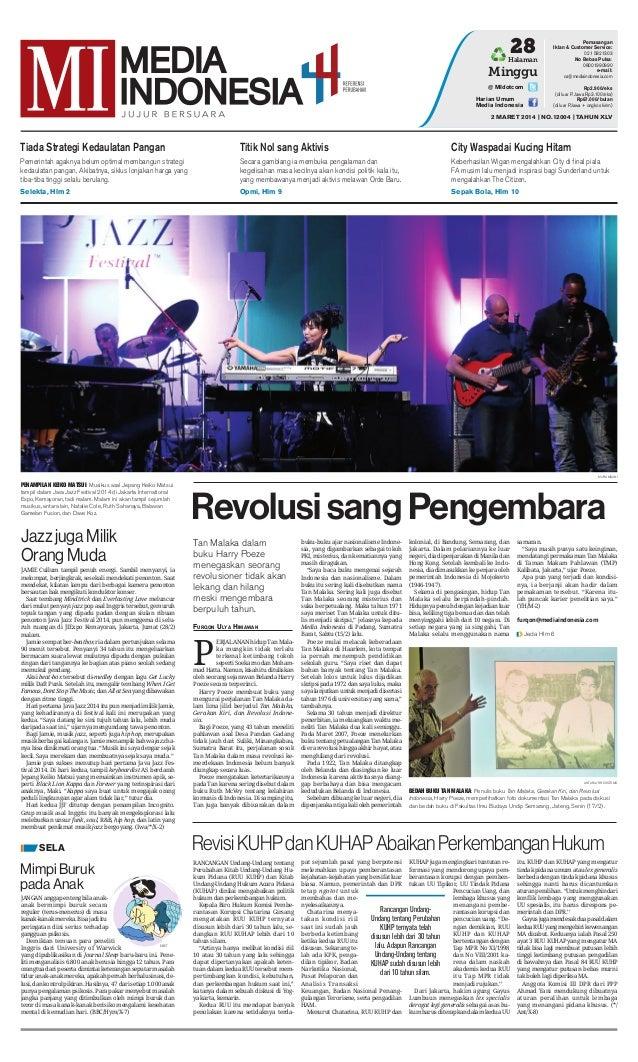 Media Indonesia 2 Maret 2014