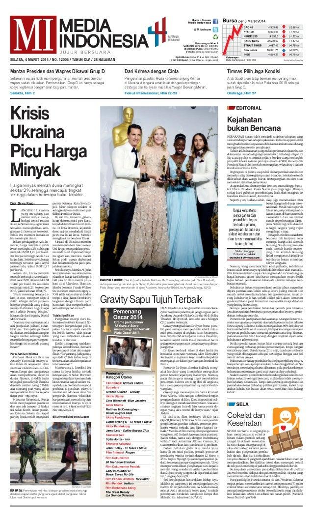 Media Indonesia 4 Maret 2014