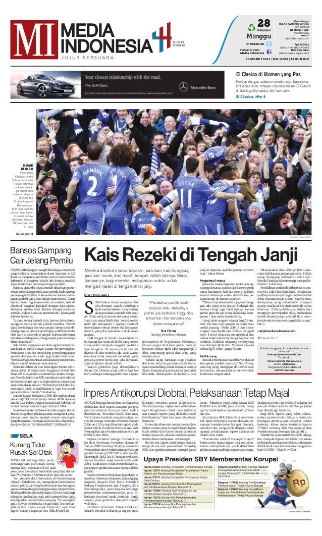 Media Indonesia 23 Maret 2014