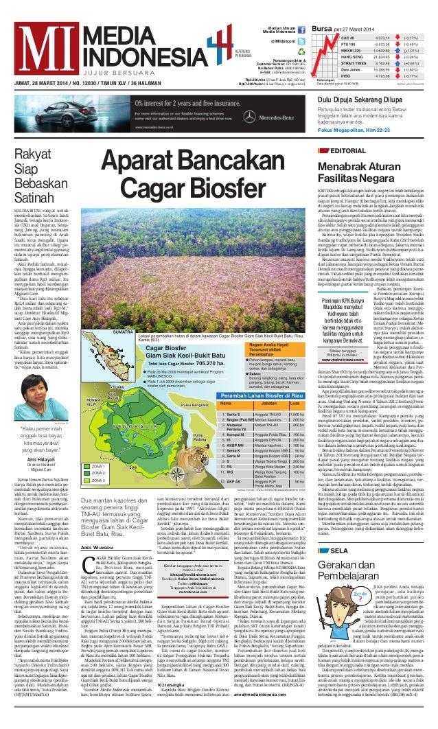 Media Indonesia 28 Maret 2014