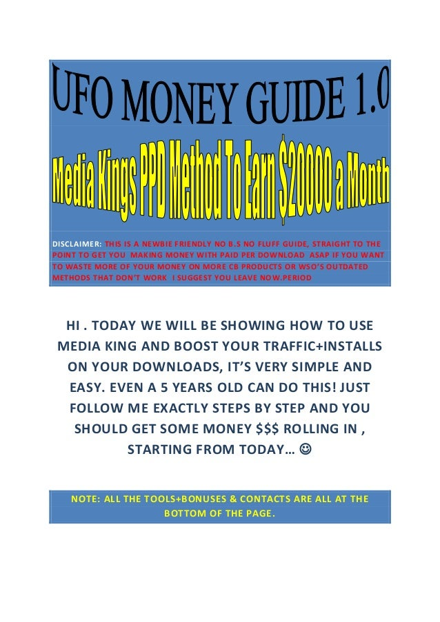 DISCLAIMER: THIS IS A NEWBIE FRIENDLY NO B.S NO FLUFF GUIDE, STRAIGHT TO THE POINT TO GET YOU MAKING MONEY WITH PAID PER D...