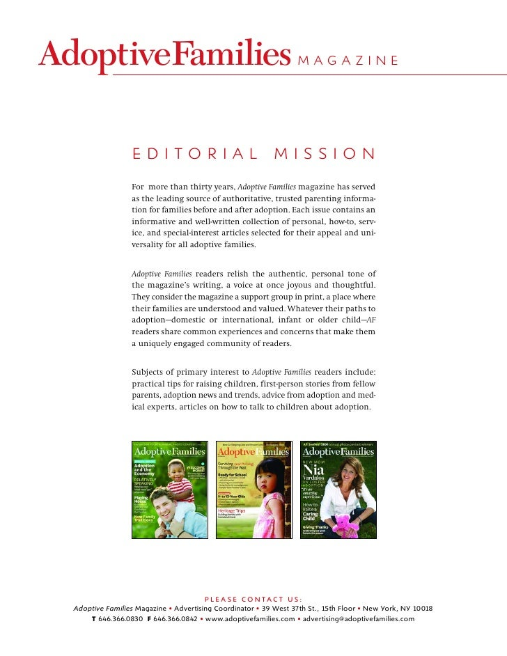 MAGAZINE                     EDITORIAL                                 MISSION                 For more than thirty years,...