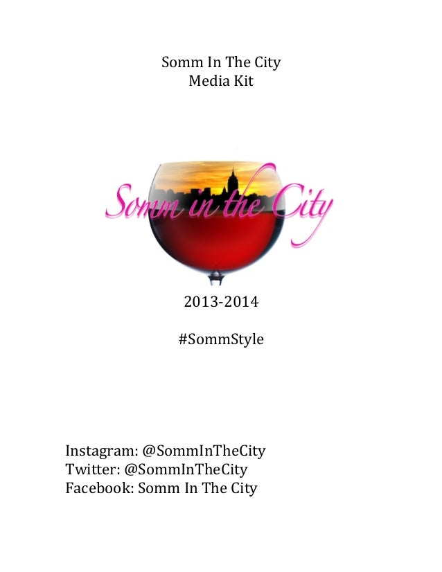 Somm In The City Media and Brand Kit