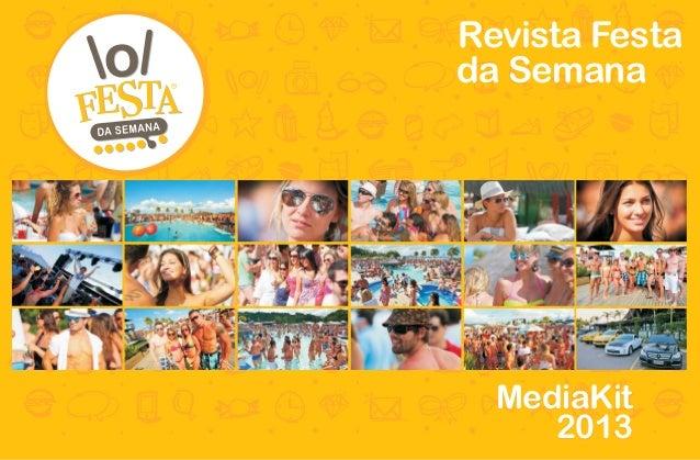 Revista Festada Semana  MediaKit     2013