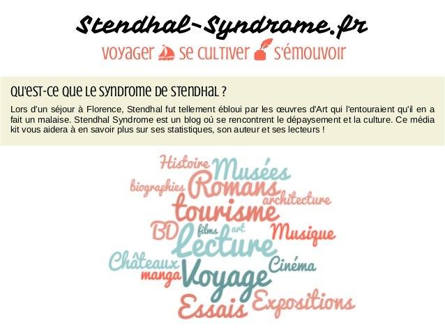 Stendhal-Syndrome.fr Lors d'un séjour à Florence, Stendhal fut tellement ébloui par les œuvres d'Art qui l'entouraient qu'...