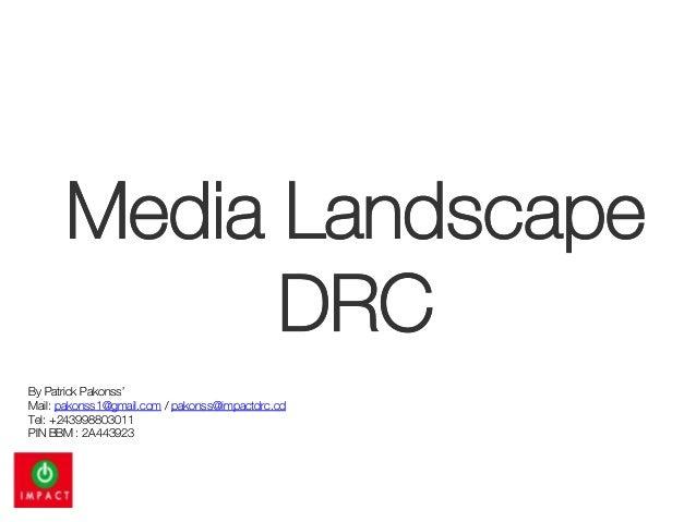 Media landscape may 2013 english