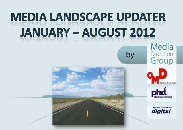 Media landscape updater VIII 2012