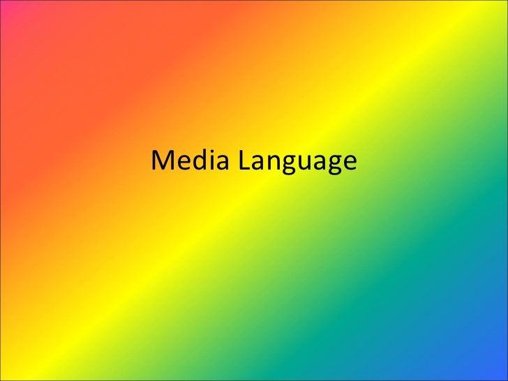 Media language2