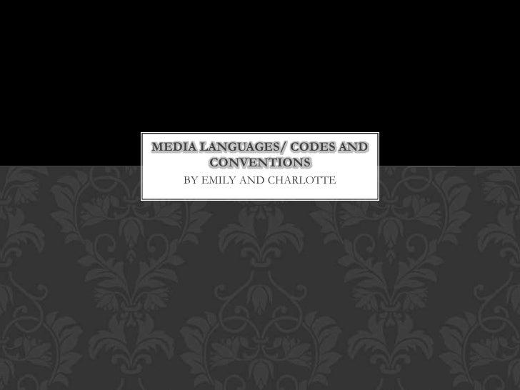Media languages