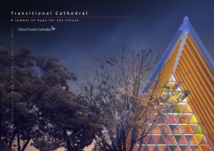 CARDBOARD CATHEDRAL PROJECT APPROVED