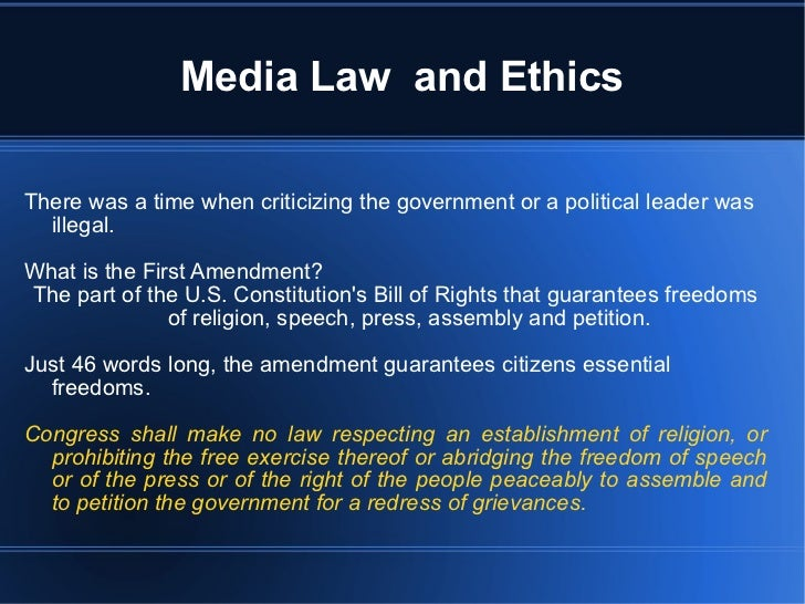 government and ethics essay