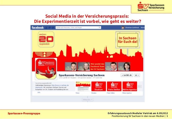 Social Media in der Versicherungspraxis