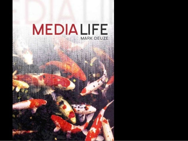living in, not with mediadefining media, defining lifecreating art with lifewe are, or should be, zombies.