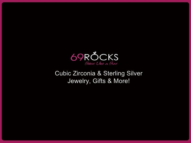Cubic Zirconia & Sterling Silver Jewelry, Gifts & More!