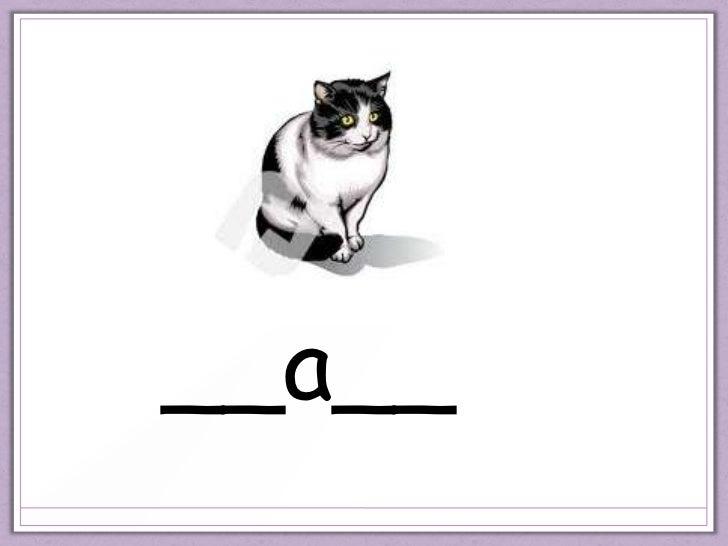 Medial vowel 'a'