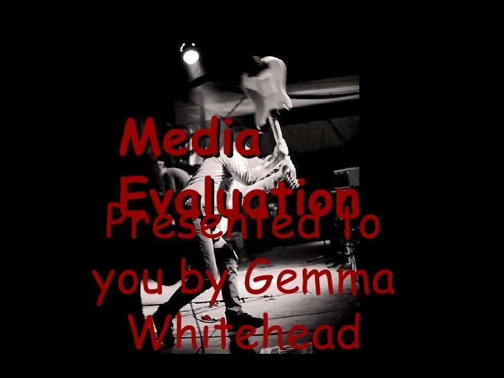 Media Magazine Presentation