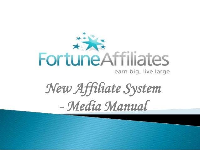 Fortune Affiliates Media management